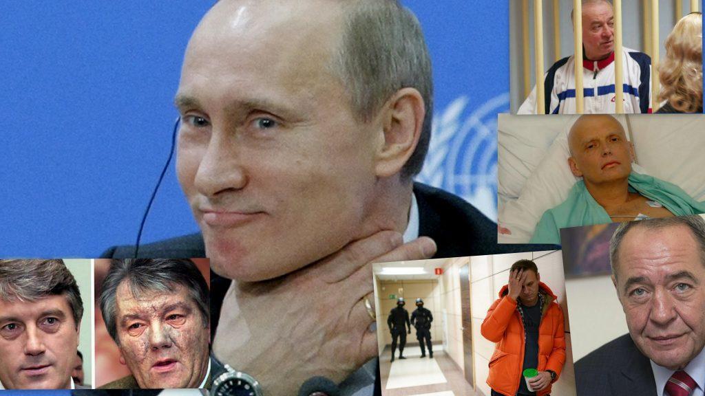 Pse zgjidhet helmi për të eleminuar armiqtë e Putinit