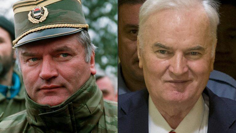 """""""Kasapi"""" i Bosnjës Ratko Mlladiç, apelon dënimin për gjenocid"""