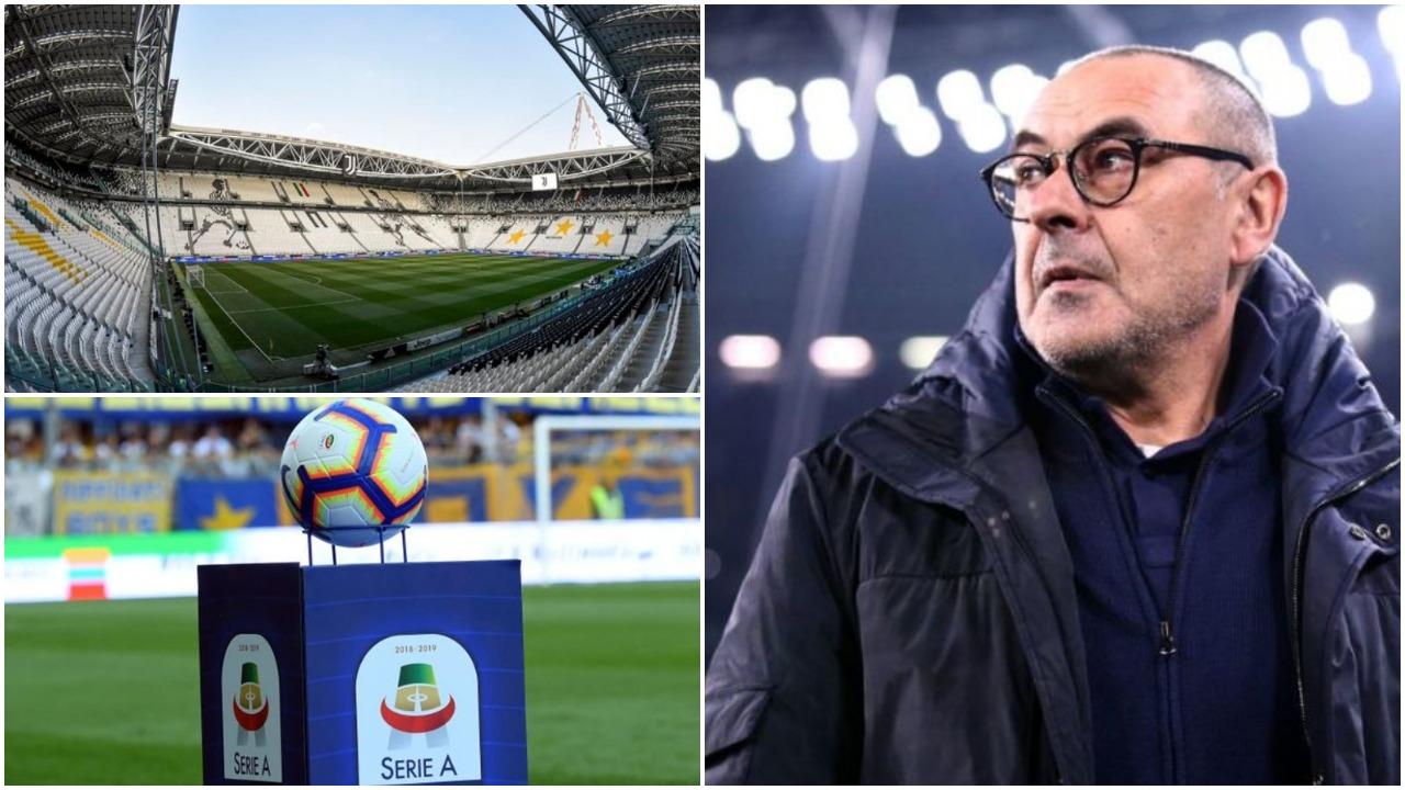 Sarri bën një ndryshim për Champions, zgjidhet data e sezonit të ri në Serie A