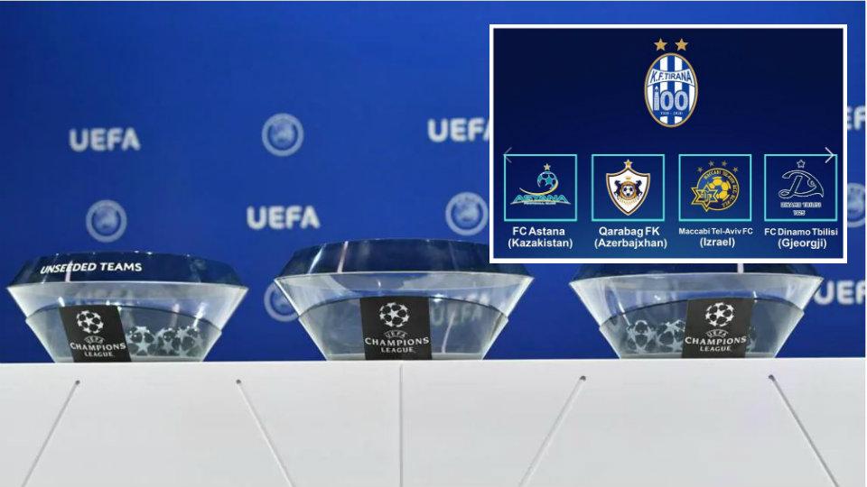 Goglat vendosin, Tirana super short në Champions League