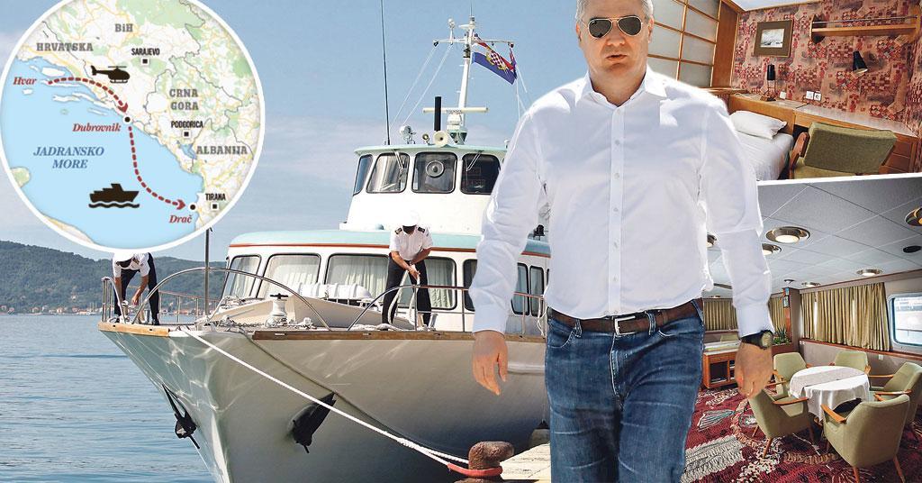 """""""Përdori jahtin e Marinës Kroate për të vizituar Ramën në Shqipëri"""", një """"Tito"""" tjetër rishfaqet në Kroaci?"""