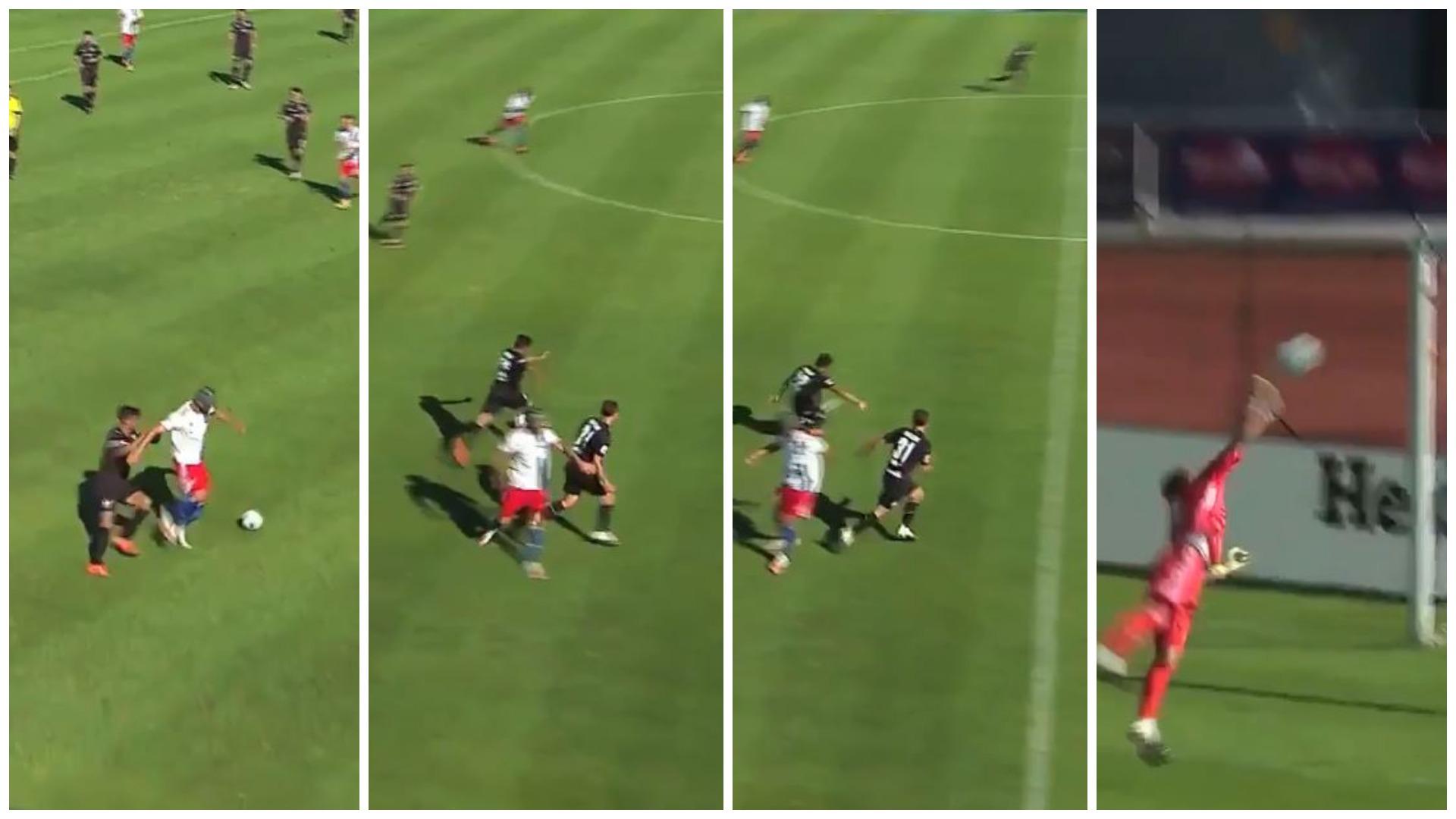 VIDEO/ Gol nga mesfusha në miqësore, Gjasula protagonist