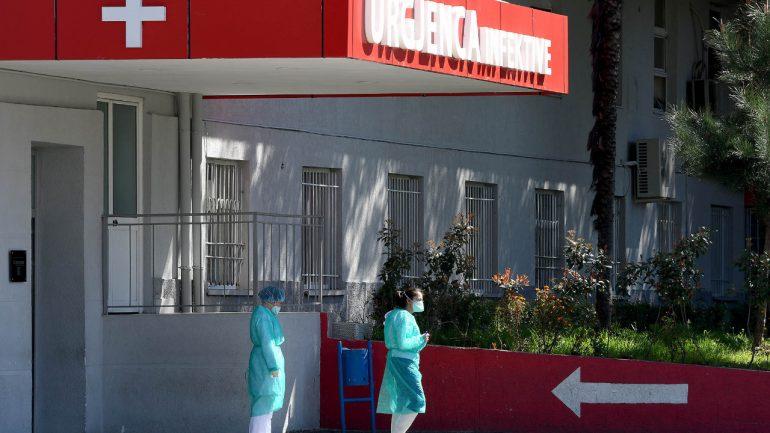 119 pacientë të shtruar në dy spitalet COVID, kryeqyteti me numrin më të lartë të të prekurve
