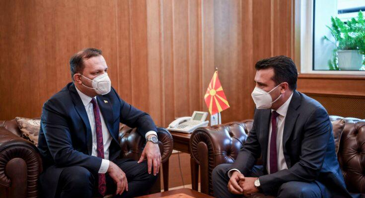 Zaev merr zyrtarisht mandatin e dytë si kryeministër: Vazhdojmë para në planin ndërkombëtar