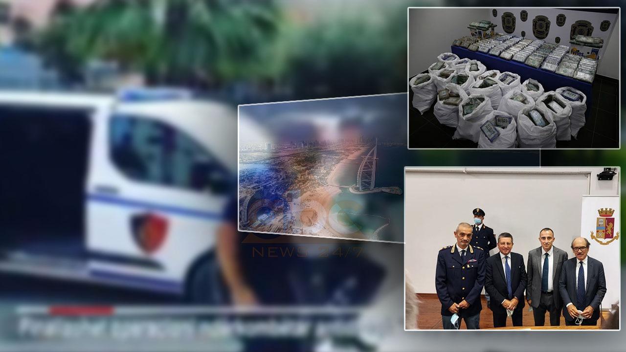 EMRAT/ Këta janë 5 të arrestuarit në Shqipëri, pjesë e kartelit të drogës të goditur në 10 shtete