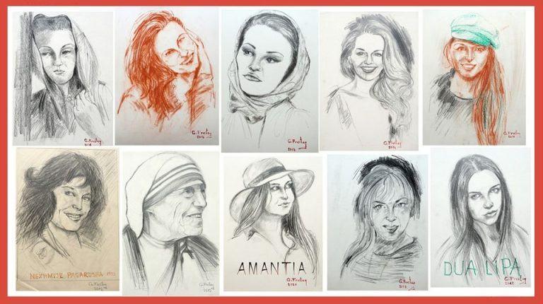 Nga Nënë Tereza te Dua Lipa, piktori shqiptar në Austri nderon figurën e gruas shqiptare