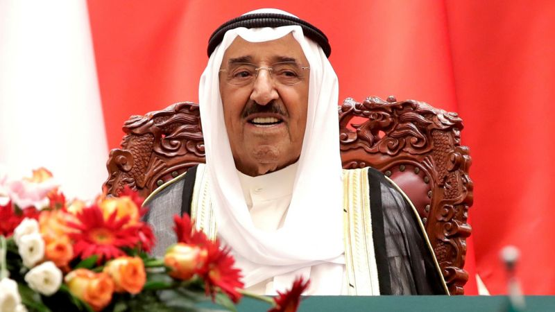 """""""Dekani i diplomacisë arabe"""", ndahet nga jeta Emiri i Kuvajtit, sheiku Sabah al-Sabah"""