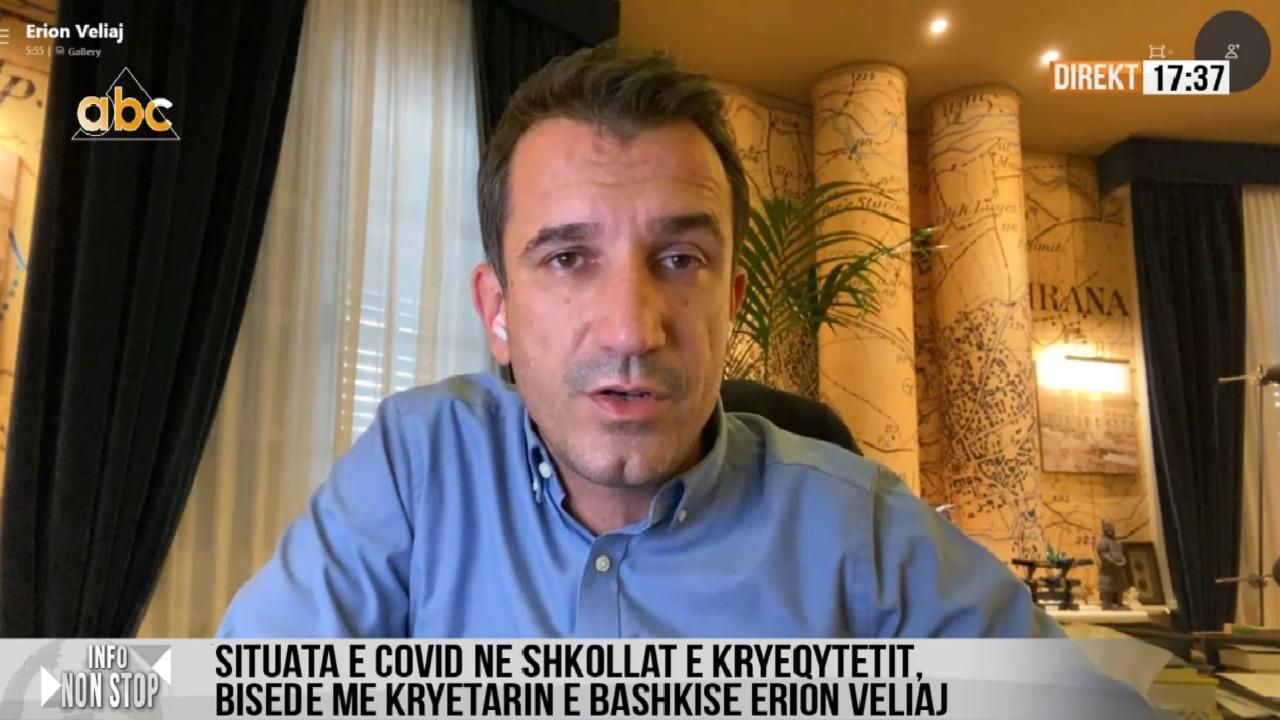 """Trafiku në Tiranë, Veliaj: Gati """"Zogu i Parë"""" dhe """"Rruga e Durrësit"""", pas shirave i vëmë shtresën e fundit"""