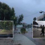 """LIVE/ Ndodh e papritura me ciklonin në Greqi, """"shpëton"""" Athina"""