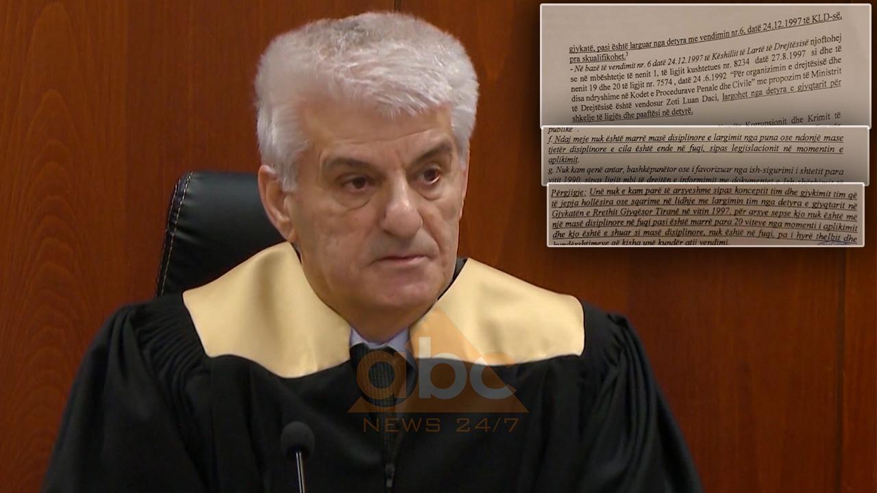 Hidhet shorti, kjo është gjyqtarja që do të vendosë për fatin e Luan Dacit
