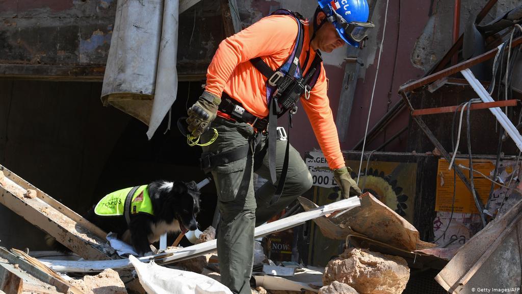 Një muaj pas shpërthimit në Bejrut, ekipet e shpëtimit vazhdojnë kërkimet për të mbijetuar
