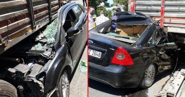 FOTO/ Mrekulli, shoferi i kësaj makine pësoi vetëm disa gërvishtje pas aksidentit