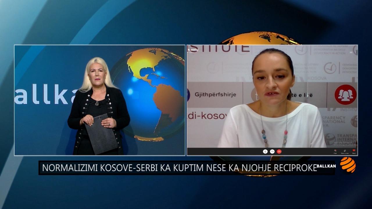 Marrëveshja Kosovë-Serbi, Jeta Krasniqi: Synimi është njohja reciproke