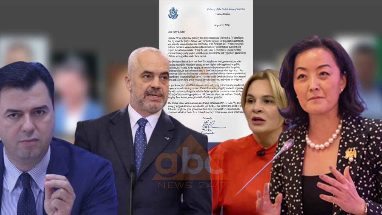 Yuri Kim letër Ramës, Bashës e Kryemadhit: Mbani përgjegjësi për pastërtinë e kandidatëve