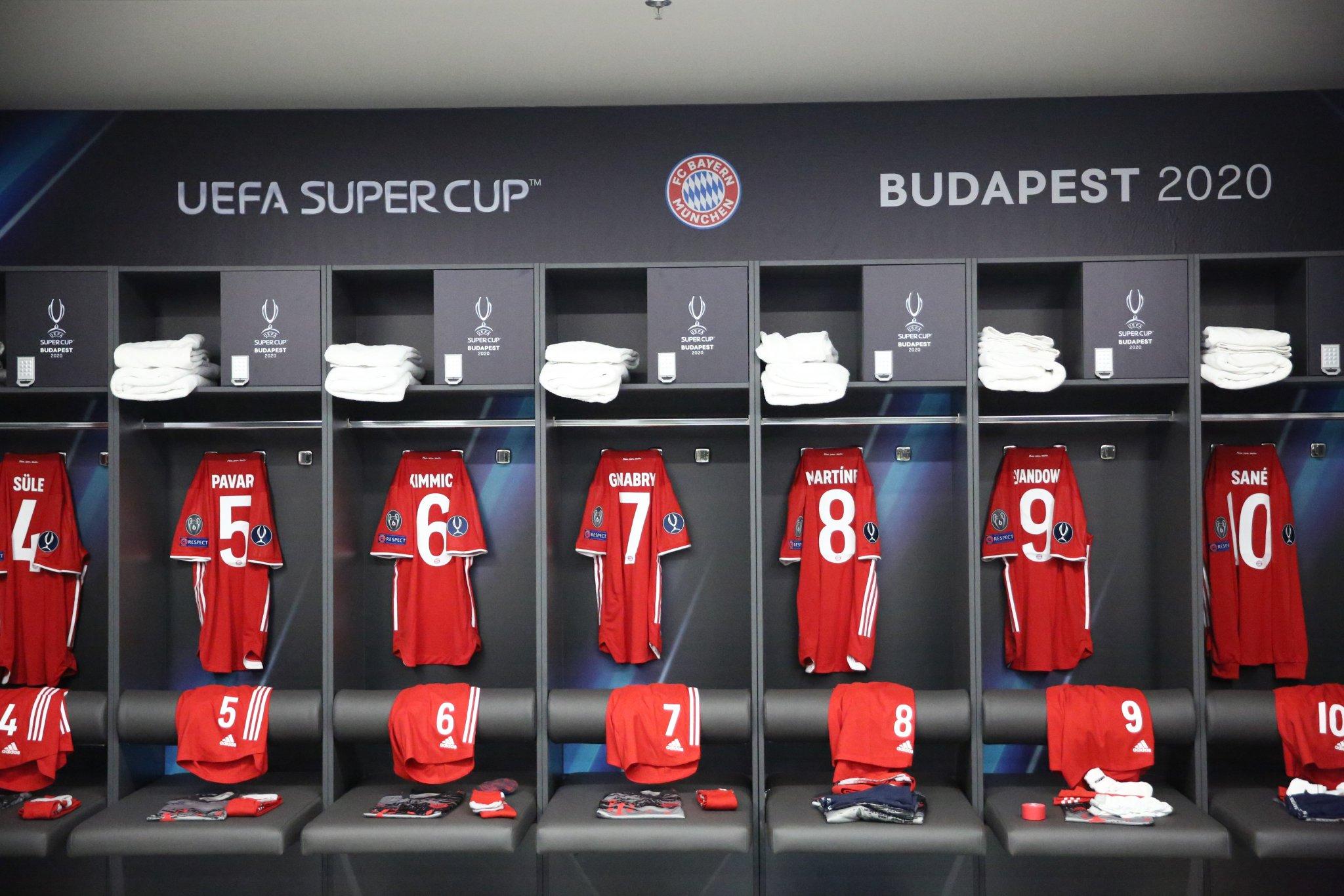 Superkupa e Europës: Bayern-Sevilla, njihuni me formacionet zyrtare