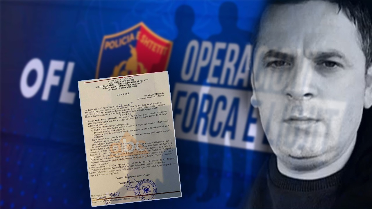 Dokumenti/ OFL i kërkon mikut të Emiljano Shullazit të deklarojë pasurinë