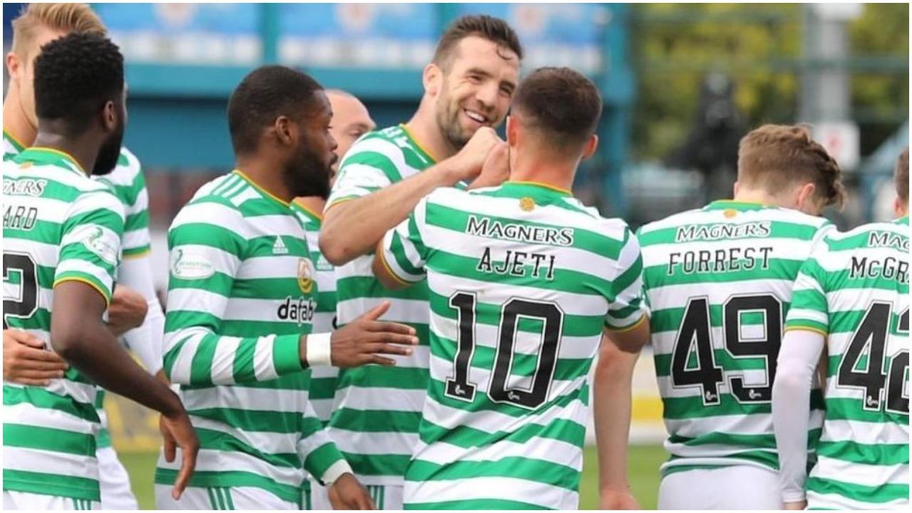 VIDEO/ Ajeti gjen golin e radhës në Skoci, Celtic në avantazh të dyfishtë