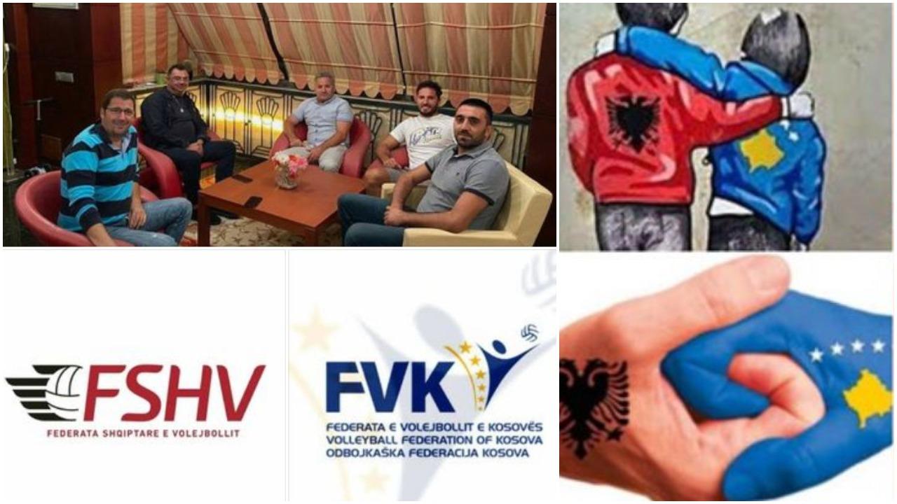 Bashkimi Shqipëri-Kosovë nis nga sporti, edhe volejbolli me trofe mbarëkombëtar