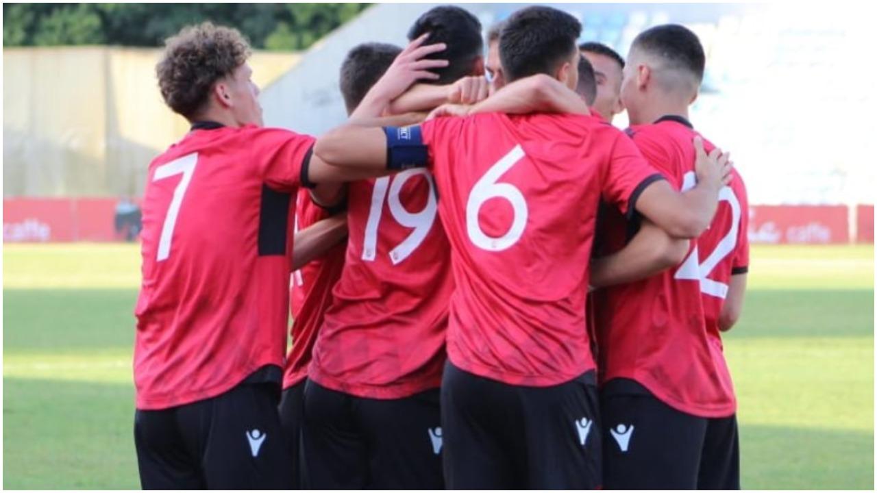 VIDEO/ Spektakël dhe goleadë, Shqipëria U-21 mposht thellë Austrinë
