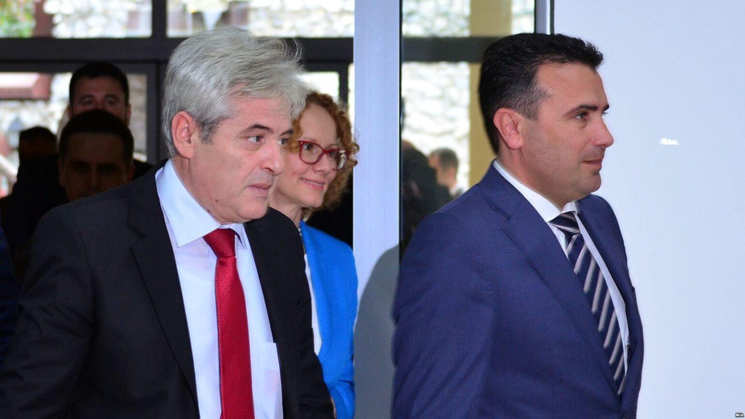 """""""Torta"""" e pushtetit, gati negociatat në Shkup për zv/ ministrat, zbulohen emrat e shqiptarëve"""