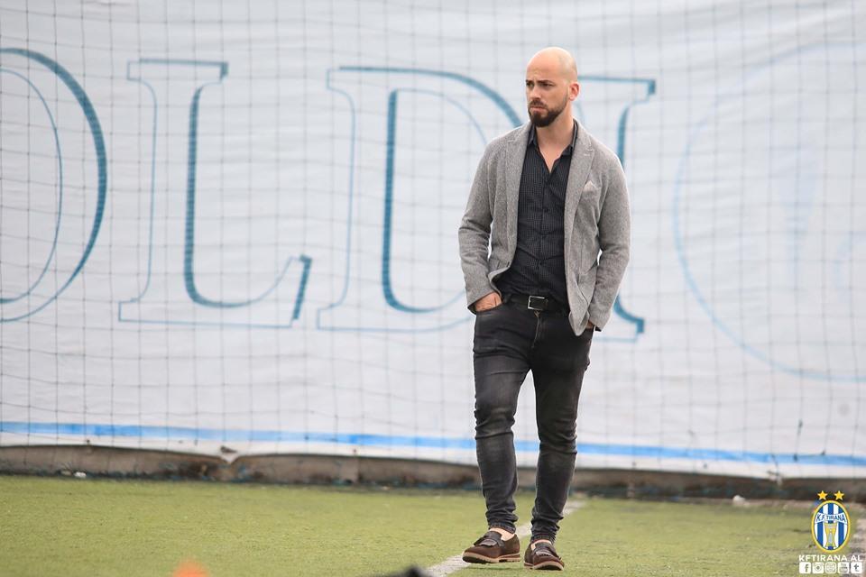 Revolucion te Tirana, ikin drejtori sportiv dhe menaxheri i skuadrës