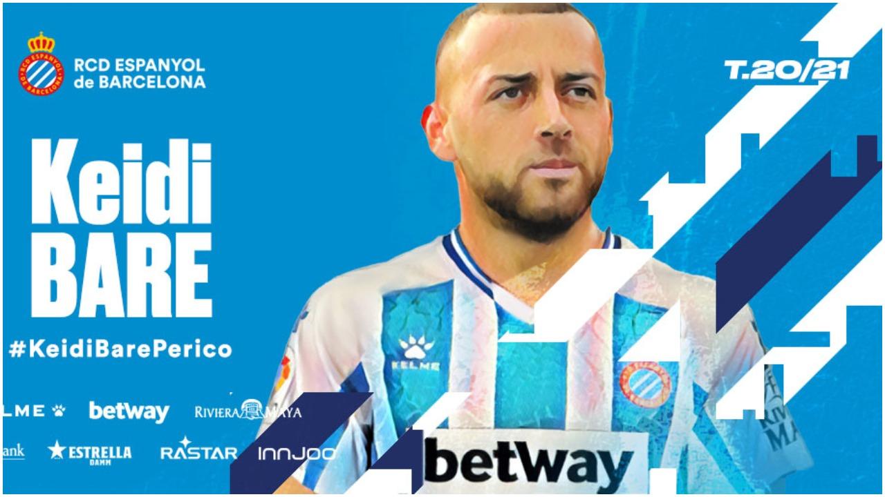 Zyrtare/ Espanyol e prezanton, Keidi Bare gati për aventurën e re!
