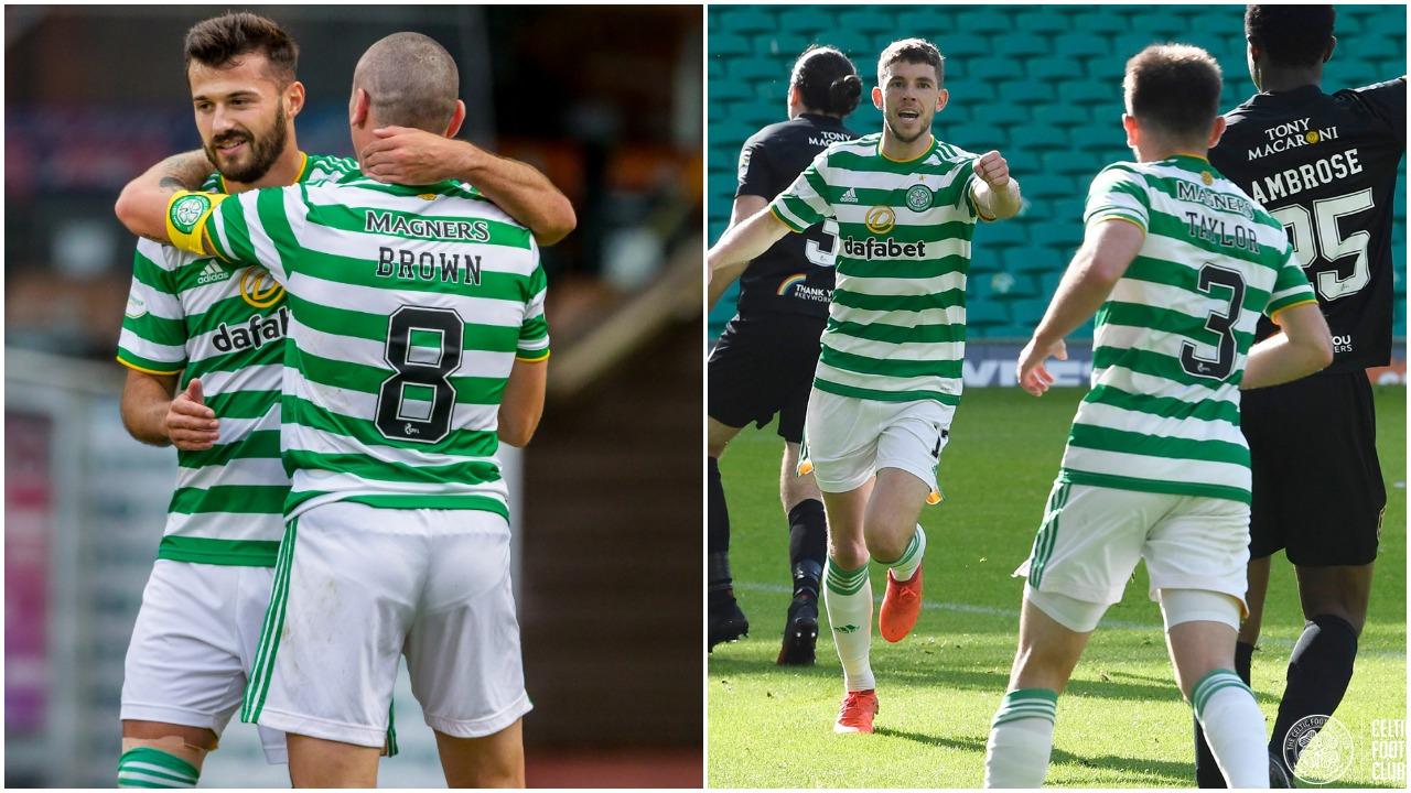 VIDEO/ Ajeti protagonist për Celtic, gol dhe asist kundër Livingston