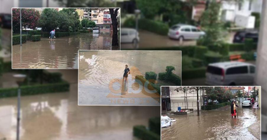Heavy rains cause flooding in Lezha