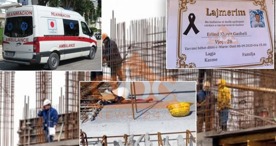 Man dies after fall from scaffolding in Albania