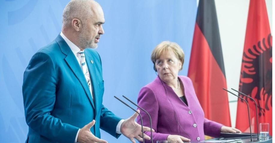 Edi Rama pay a visit in Berlin