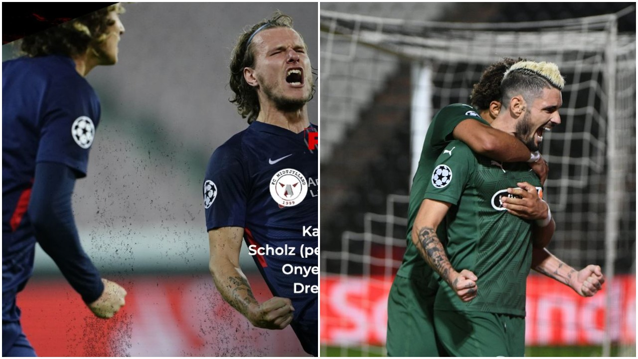 VIDEO/ Midtjylland dhe Krasnodar shkruajnë historinë, Olayinka në Europa League