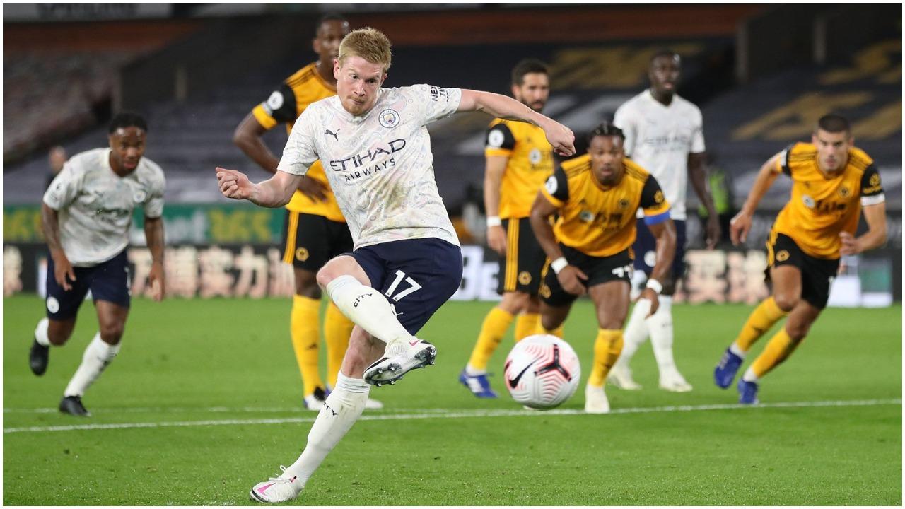VIDEO/ De Bruyne dhe talenti Foden, City dominues në pjesën e parë kundër Wolves