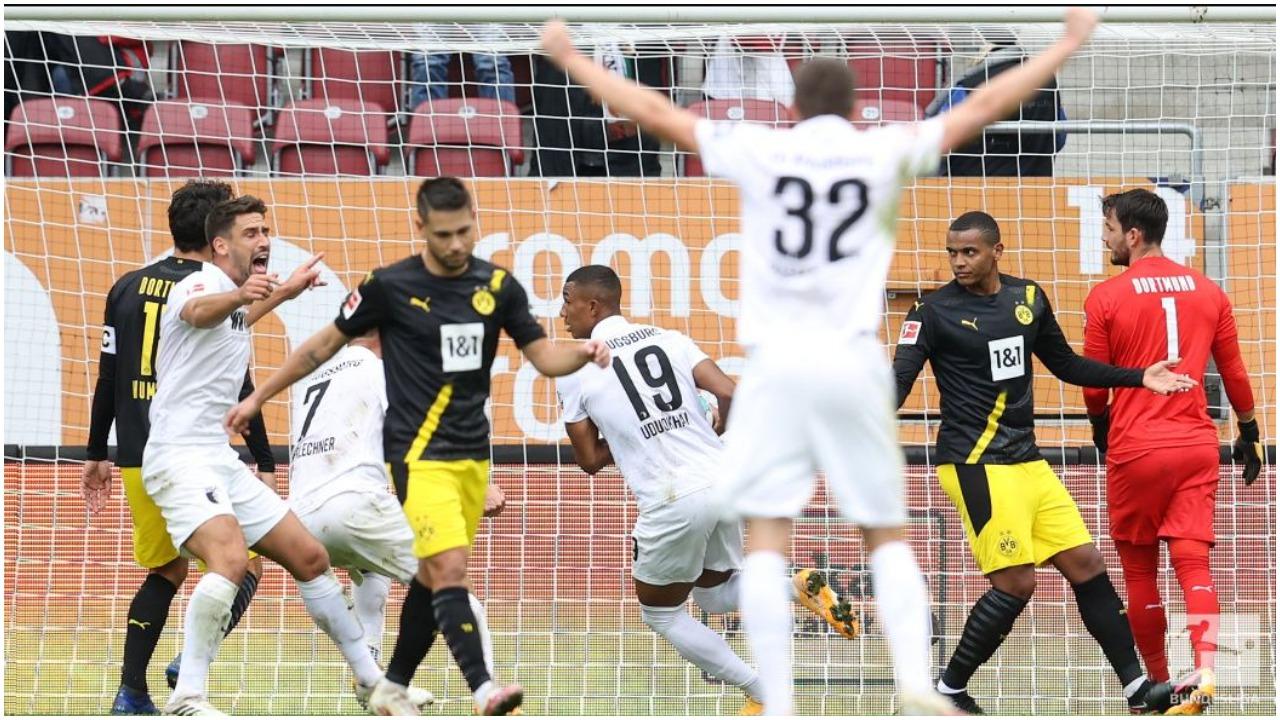 VIDEO/ Një mbrojtës i ndëshkon në pjesën e parë, Dortmundi duhet të reagojë