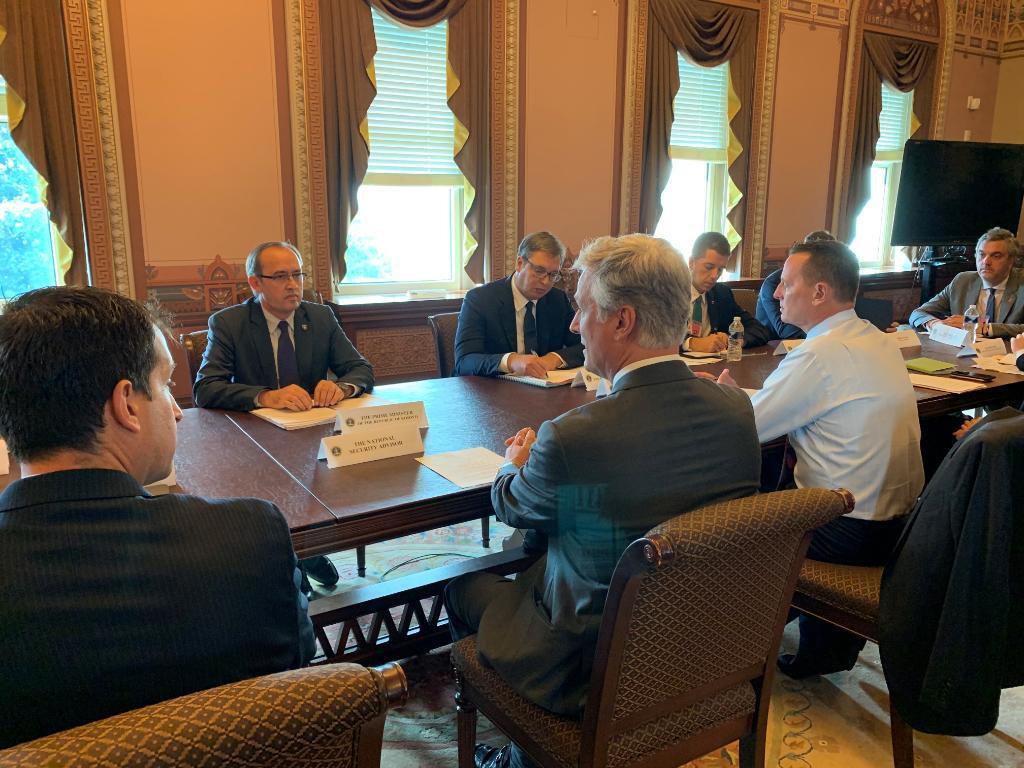 Takimi në SHBA, O'Brien: Bisedimet mes Kosovës e Serbisë po shënojnë progres