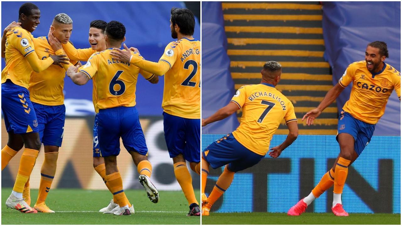 VIDEO/ Everton i pandalshëm, i falet golave të Calvert-Lewin dhe Richarlison