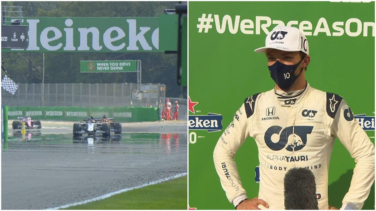 Formula 1/ Garë e çmendur në Monza: Triumfon një i panjohur, surpriza në pod