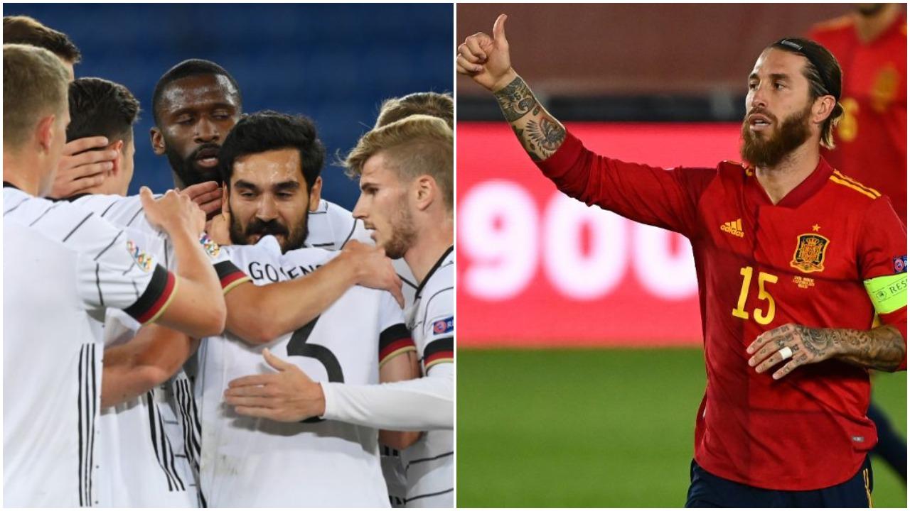 VIDEO/ Gjermania ndëshkon Zvicrën, Sergio Ramos goleador për Spanjën