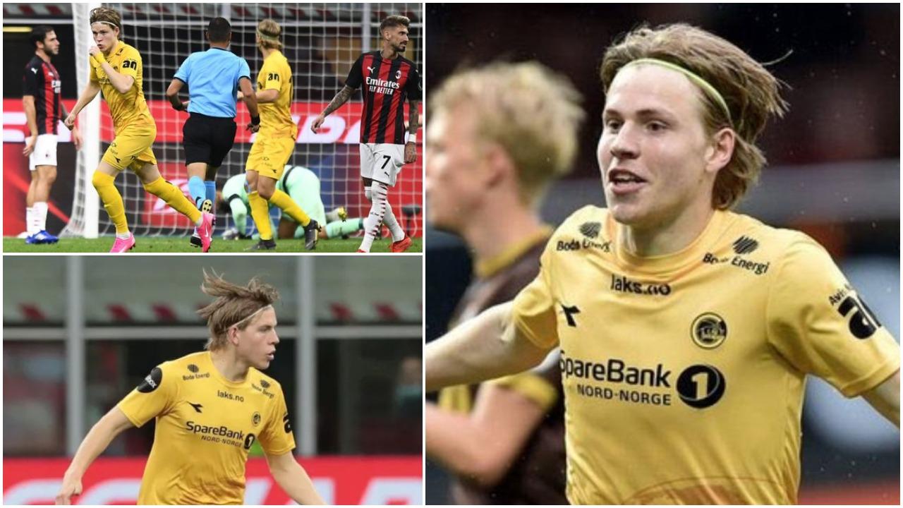 Talenti viking, Hauge: Milani klub i madh, do të më pëlqente të luaja me ta  - Abc News