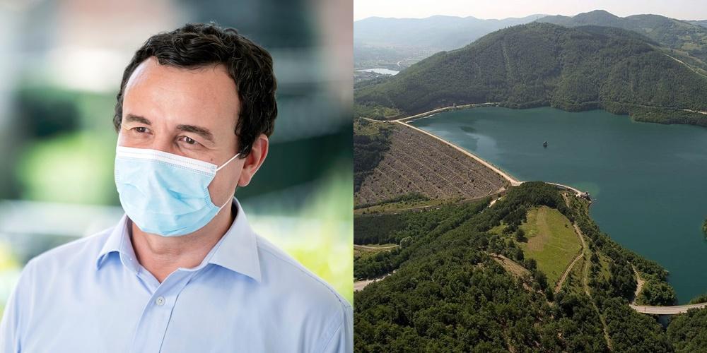 """Kurti për Ujmanin: Është çështje pronësie e jo kufiri, i duhet Serbisë si ujë për """"Zajednicë"""""""