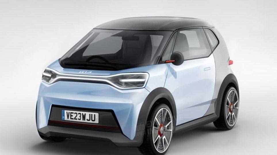 Kia sfidon Citroen, po përgatit një model të vogël elektrik