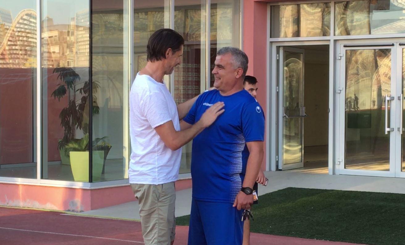 """Brdaric dëshira e Tiranës, """"Buba"""" dhe Agim Ibraimi në qendër të vëmendjes"""