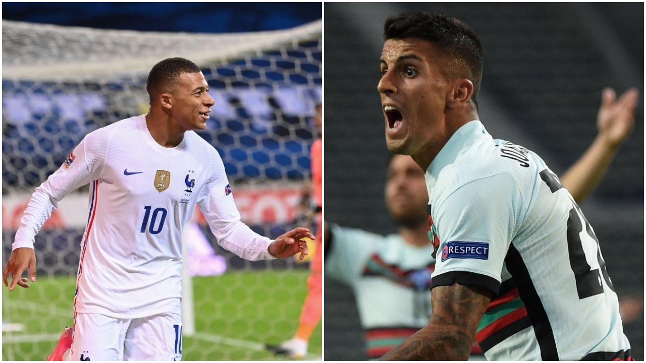VIDEO/ Eurogola në Nations League, Mbappe dhe Cancelo dhurojnë spektakël