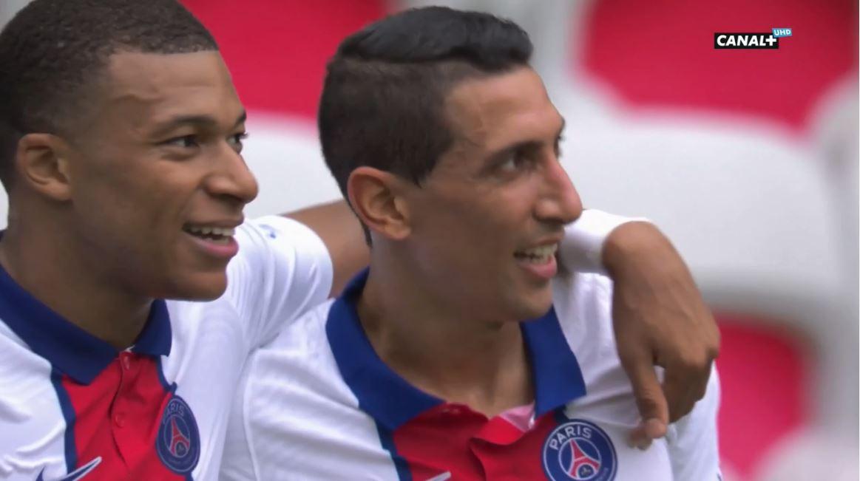 VIDEO/ PSG fluturon me Mbappe e Di Maria, Nice nuk reziston dot