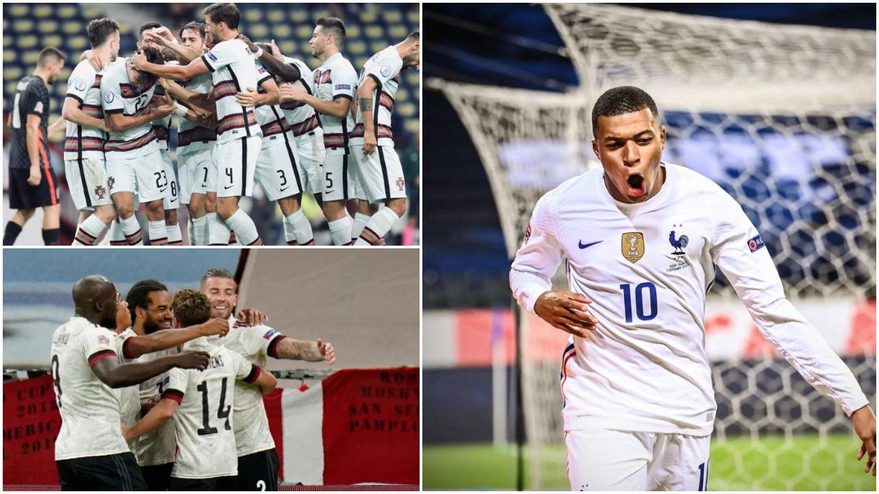 """VIDEO/ Portugalia """"shkërmoq"""" Kroacinë, triumfojnë dhe Franca e Belgjika"""