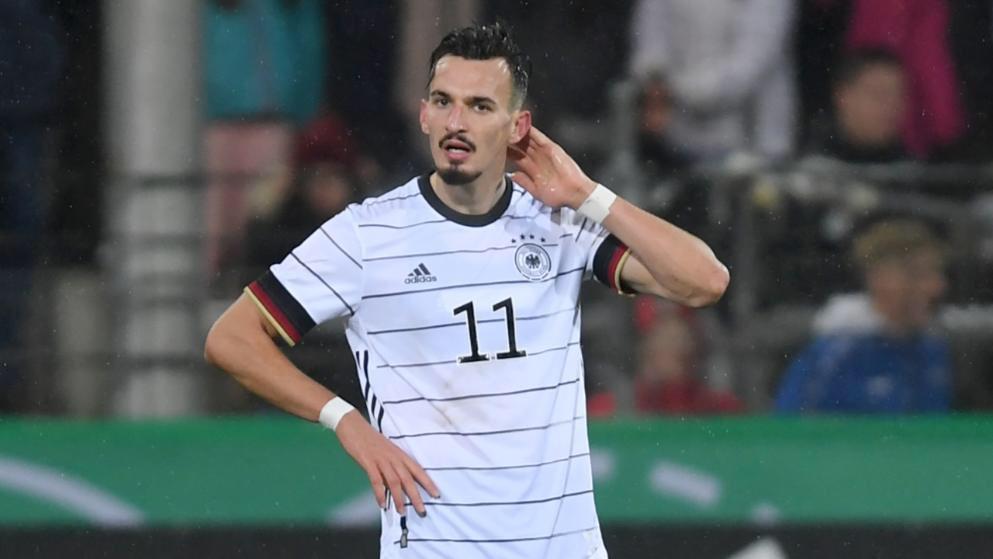 """VIDEO/ Gol """"gjerman"""" për Berishën, sulmuesi shqiptar i shkëlqyer"""