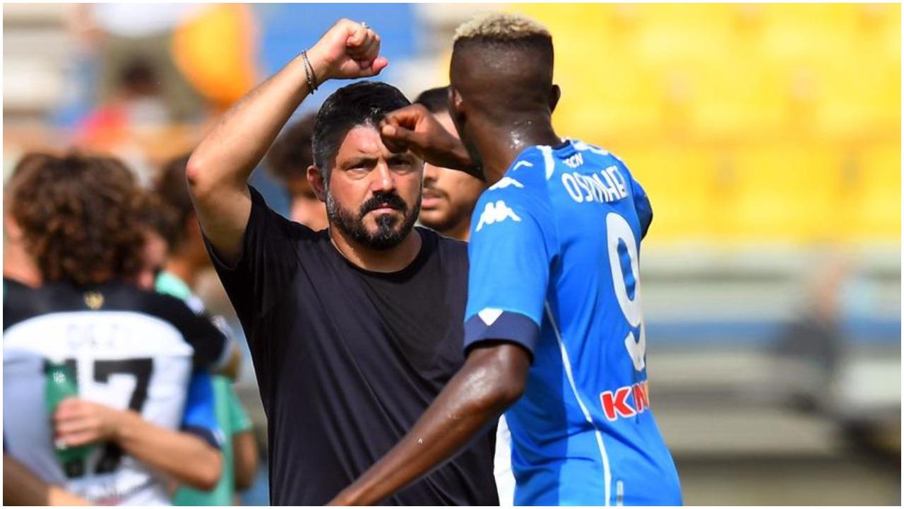 Elozhe dhe një këshillë për Osimhen, Gattuso flet hapur për sulmuesin