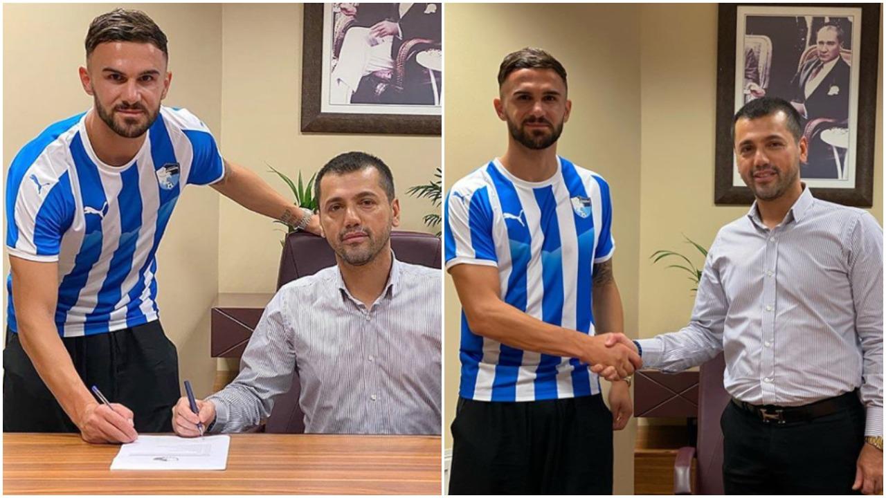 Zyrtare/ Armando Sadiku zbarkon në Turqi, firmos me skuadrën e re!