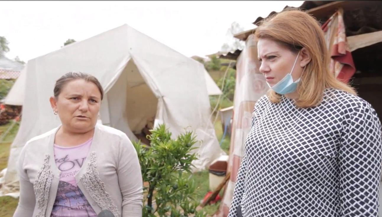 PD në Mazhë të Madhe në Krujë, familja Preni rrëfen natën e vështirë: Nuk ikim nga vendi jonë