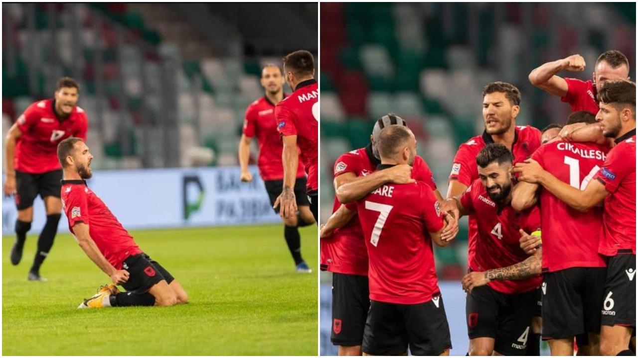 VIDEO/ Shqipëri e bukur dhe fituese, Cikalleshi-Bare ndëshkojnë Bjellorusinë
