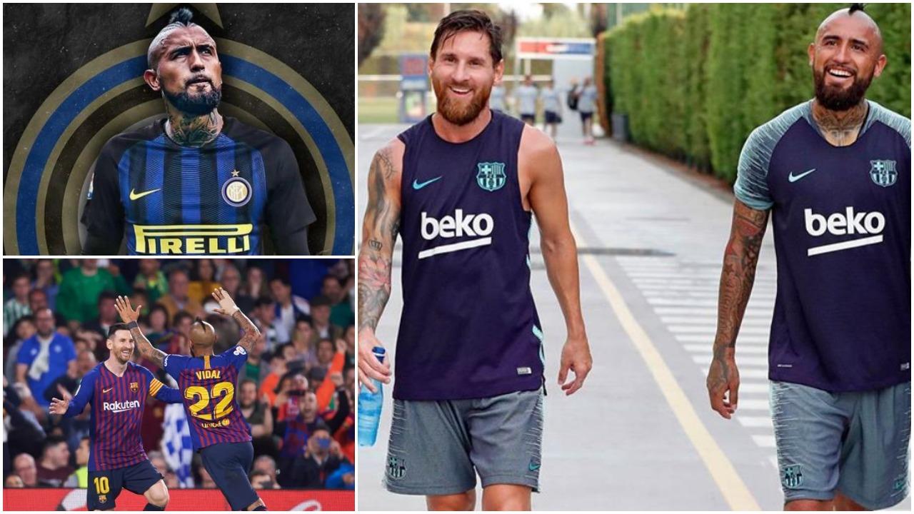 Dita e firmës me Interin për Vidal, Messi bën zikaltrit të ëndërrojnë